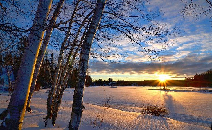 splendeur hivernale : au lodge de la rivière montmorency