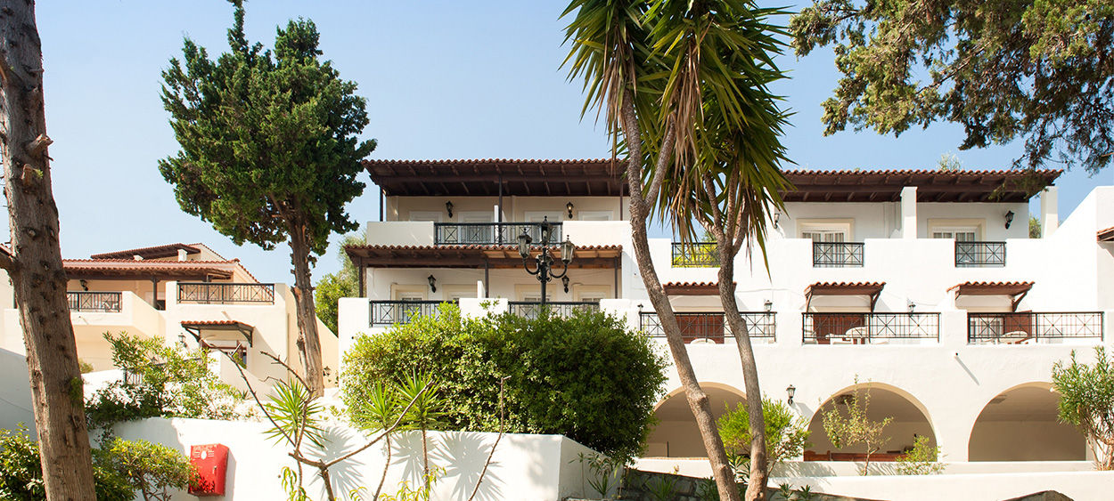 H tel corfu village 3 chambre bungalow en formule demi for Hotel demi pension