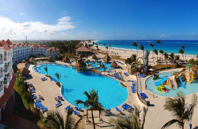 DOMBARPC piscines hotel barcelo puntacana