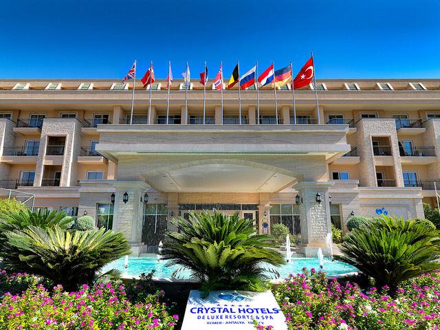 Hôtel Crystal de Luxe Resort & Spa 5*, chambre standard en Formule tout compris